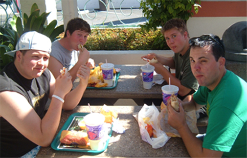 Taco Bell... they need to sponsor us!